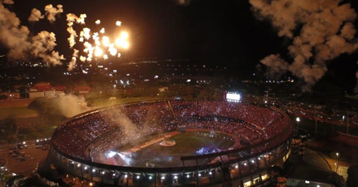 River Plate continua ampliando el estadio Monumental